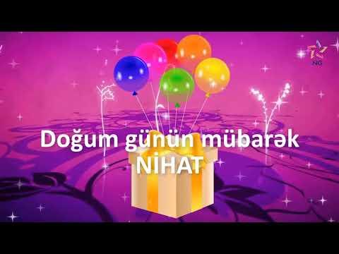 Doğum günü videosu - NİHAT