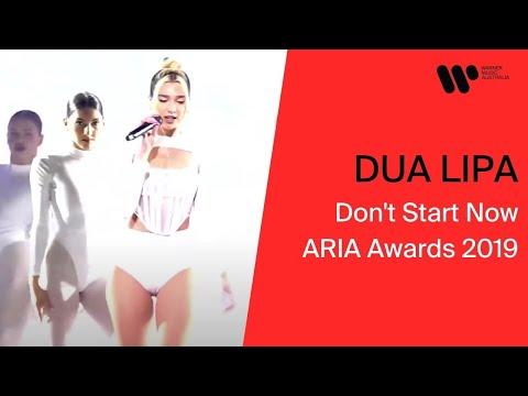 Dua Lipa - Don't Start Now ARIA Awards 2019