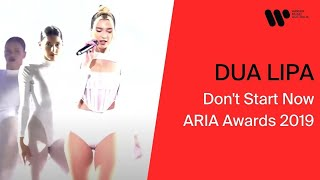 Dua Lipa - Don't Start Now (ARIA Awards 2019)