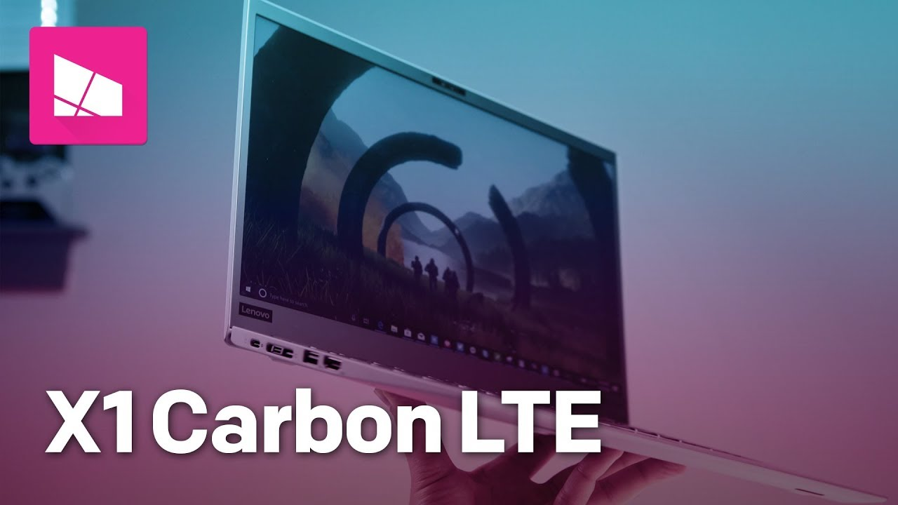 Lenovo ThinkPad X1 Carbon (6th) with LTE: The configuration