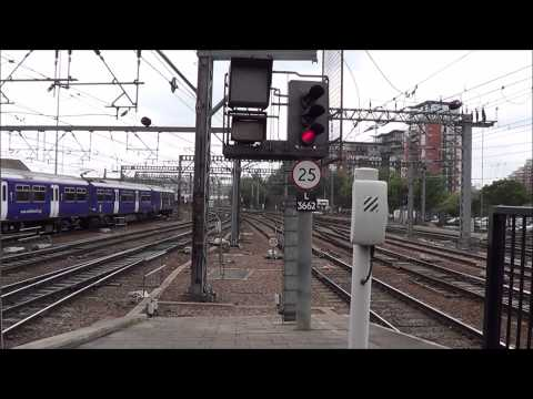 Trains at Leeds