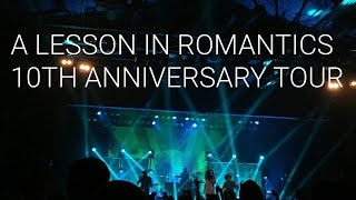 concert vlog   mayday parade a lesson in romantics 10th anniversary tour