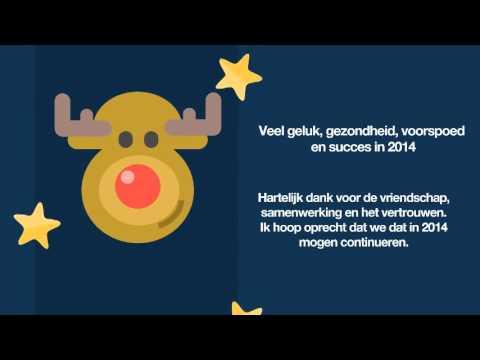 Fijne Kerst en een gelukkig 2014! - YouTube