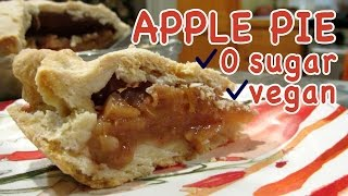 APPLE PIE WITH ZERO SUGAR, VEGAN