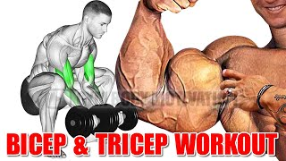 13 Best Exercises for Bigger Arms - Biceps and Triceps Workout