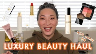 LUXURY BEAUTY HAUL with some PR