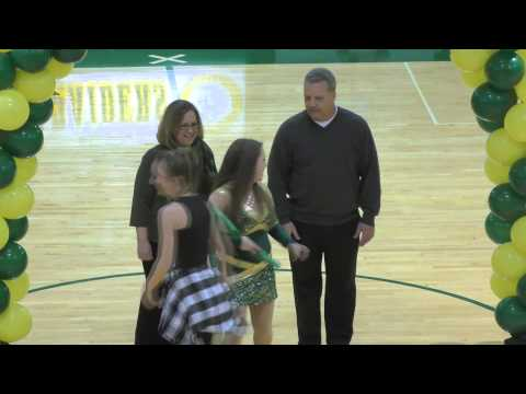 Shawnee Mission South High School, Winter Season, Senior Night, Feb 27, 2016