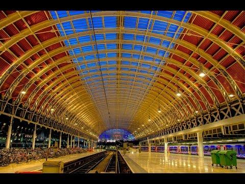 A Walk Around London's Paddington Railway Station
