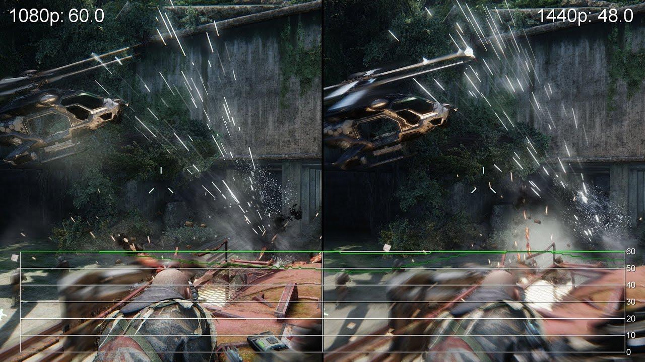 crysis 3 geforce gtx 770 1080p vs 1440p gameplay frame rate tests