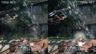 Crysis 3 GeForce GTX 770 1080p vs  1440p Gameplay Frame Rate Tests