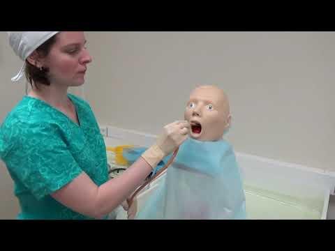 Обучающее видео по промыванию желудка