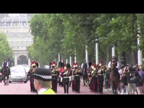 Changing the Guard, August 12, 2013:Band of the Grenadier Guards, Band of the Blues and Royals