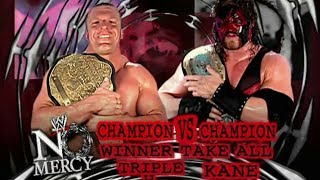WWE Kane Vs Triple H No Mercy 2002 Promo