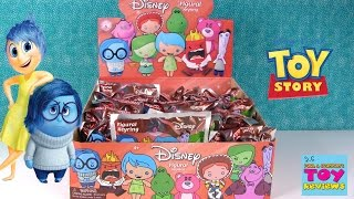 Disney Figural Keyrings Series 6 Inside Out Toy Story | PSToyReviews