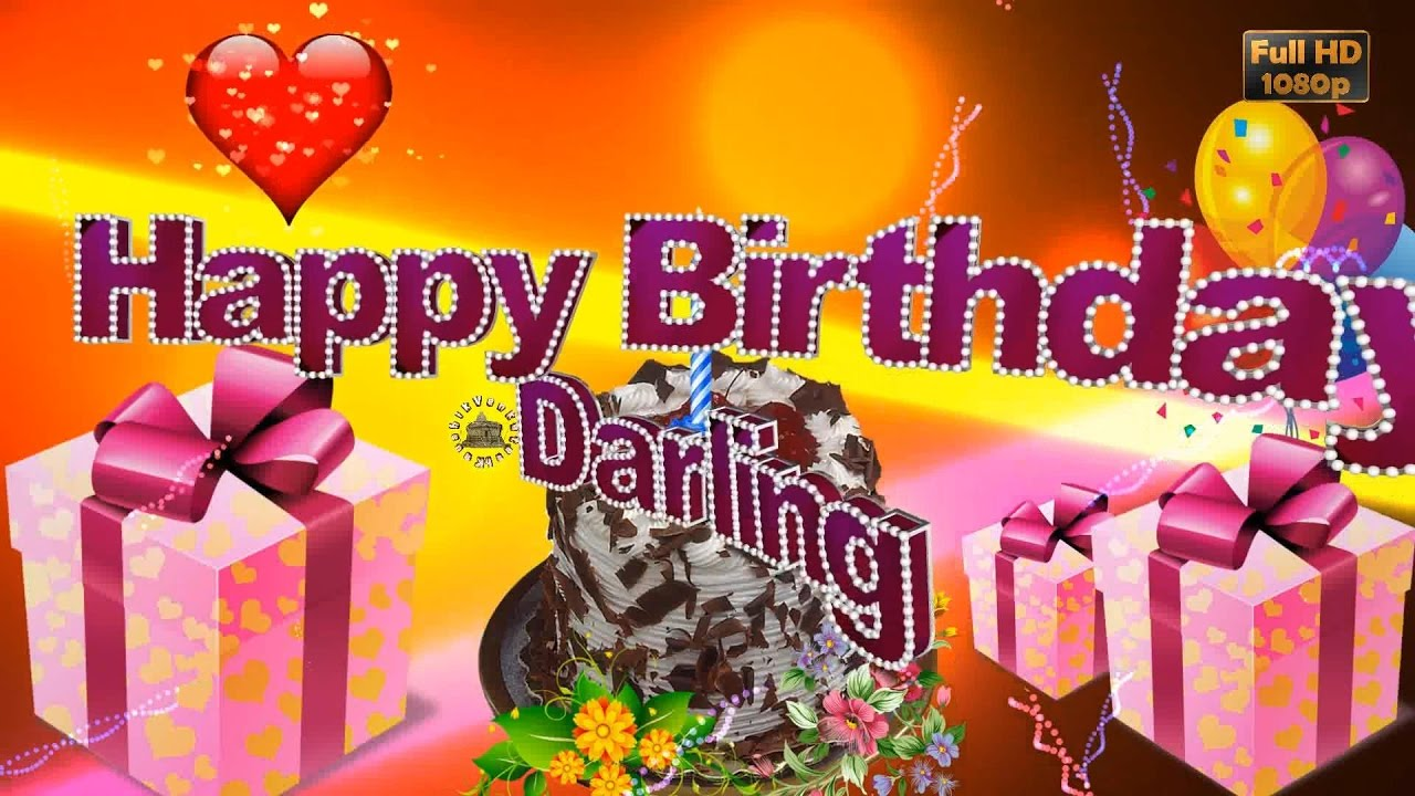Happy Birthday Husband Wishes Animation GreetingsQuotesEcardsBlessingsMessagesWhatsapp Video