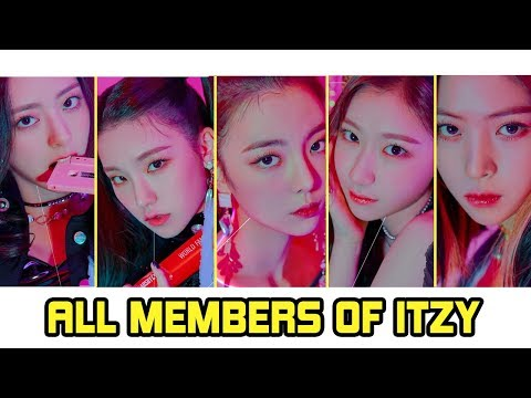 ITZY Members Profile | ITZY JYP Girl Group