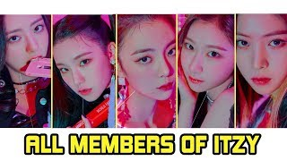 ITZY Members Profile | ITZY JYP Girl Group