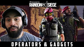 Operation Para Bellum Operators Gameplay and Gadgets Reaction