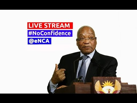 Motion of no confidence in Zuma debate