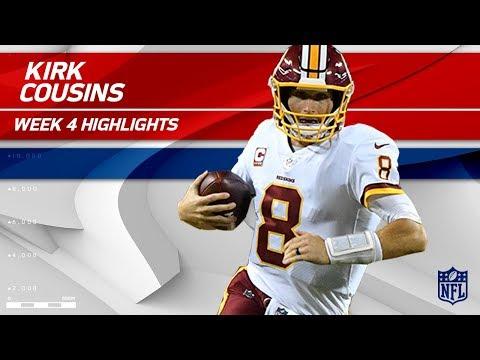 Kirk Cousins' Gritty Performance vs. Kansas City | Redskins vs. Chiefs | Wk 4 Player Highlights