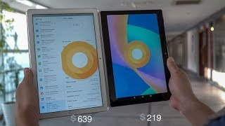 The best 4G Android tablets comparison, Huawei M5 & Chuwi Hi9 Air