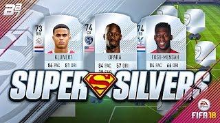 SUPER SILVER SQUAD BUILDER! w/ KLUIVERT AND FOSU MENSAH! | FIFA 18 ULTIMATE TEAM
