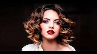 Покраска волос колорирование на темные волосы