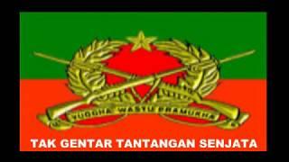 Video MARS INFANTERI LIRIK PUSDIKIF PUSSENIF KODIKLAT TNI AD INDONESIAN ARMY download MP3, 3GP, MP4, WEBM, AVI, FLV September 2018
