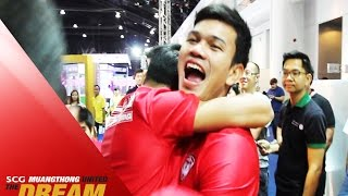MTUTD.TV Behind the Scenes เจ ชนาธิป เล่นเกมวินนิ่งไทยลีกโดยใช้ศูนย์หน้าเป็นอดิศักดิ์