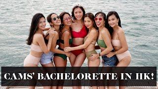 Camille's Bachelorette in HK! #HereCamsTheBride   Laureen Uy