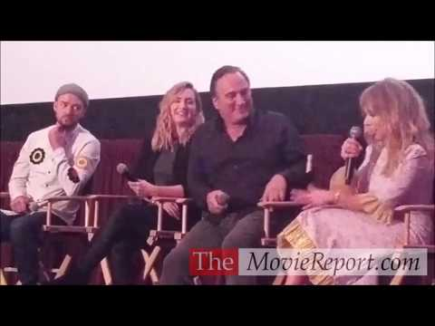 WONDER WHEEL talk with Kate Winslet, Justin Timberlake, Jim Belushi, Juno Temple - November 10, 2017