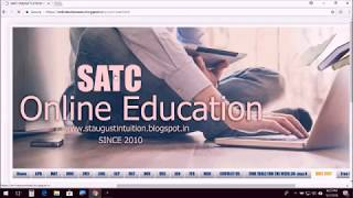 How to write Maths Online Unit Test Class 12 Chapter 3 matrices