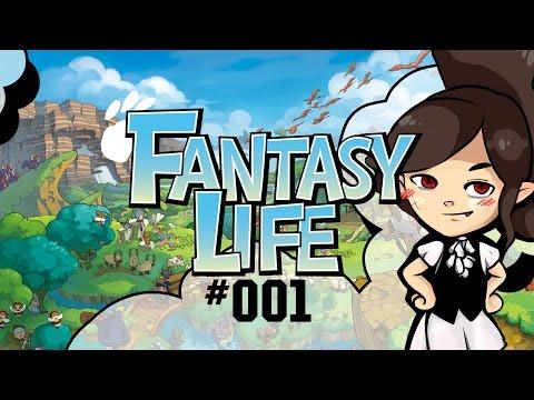 Let's Play: Fantasy Life ★ Bestimmt kein Vampir!! | #001