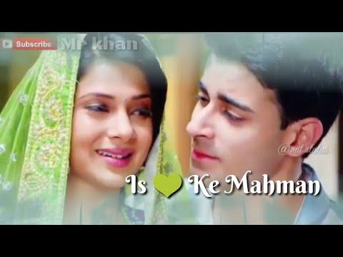 Is Dil 💜 ke Mahman || WhatsApp Status Romantic Songs || ban jaiye