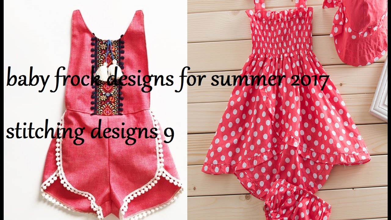 bc09660f0c03 baby frock designs for summer 2017