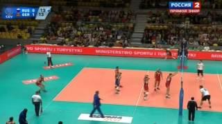 Волейбол  ЧЕ  Мужчины  Россия Германия  20 09 2013