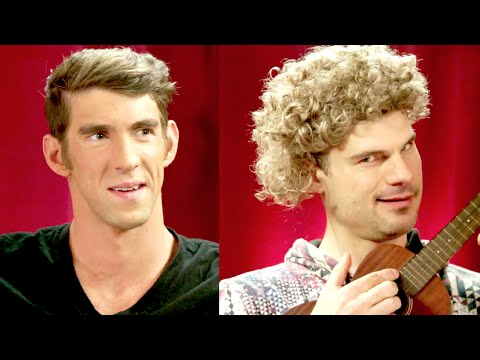 Flula Serenades Michael Phelps