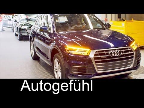 New Audi Q5 production assembly plant San José Chiapa, Puebla Mexico