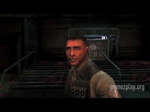 Dead Space Extraction the big boss HD Nintendo Wii FPS video game trailer