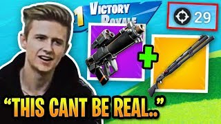 Symfuhny Uses NEW *UNBEATABLE COMBO* and CAN'T BE STOPPED in Fortnite!