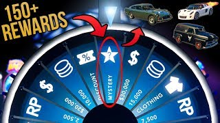 GTA Online Casino Update - All 150+ Items from the MYSTERY REWARD on the Lucky Wheel