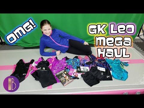 Huge GK Elite Leotard Unboxing | Leo Haul with Bethany G