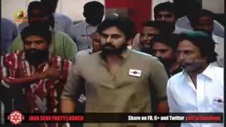 Pawan Kalyan Grand Entry HD - Jana Sena Party L...