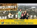 Hiking up to the Hollywood Sign and checking out the Walk of Fame and downtown Hollywood