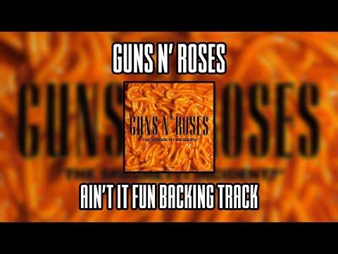Guns N' Roses Ain't It Fun backing track (Lead guitar)