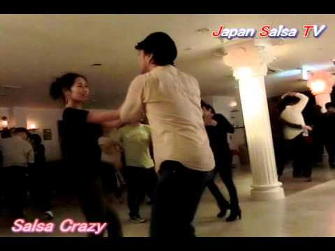 Japan Salsa TV [ Maru & Mawo ] @Salsa Crazy Video by TAMA 20130215