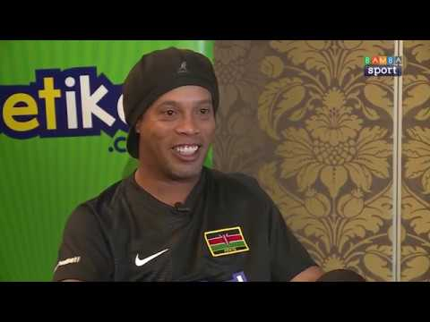 Ronaldinho Gaucho Visits Kenya || One on One with Bamba Sport