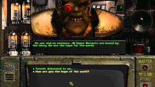 Fallout: Siding with the Master