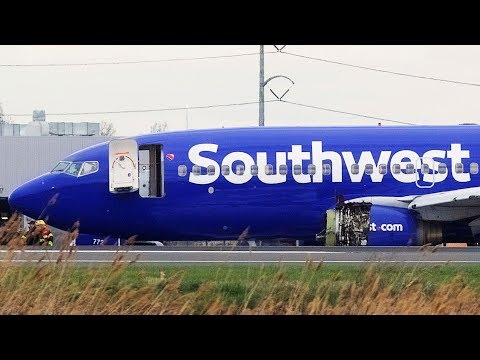 1 dead after Southwest Airlines emergency landing in Philadelphia