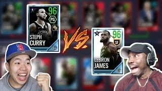 NBA All Stars Game Team Curry Vs Team Lebron Ft. QJB - Insane Close Game